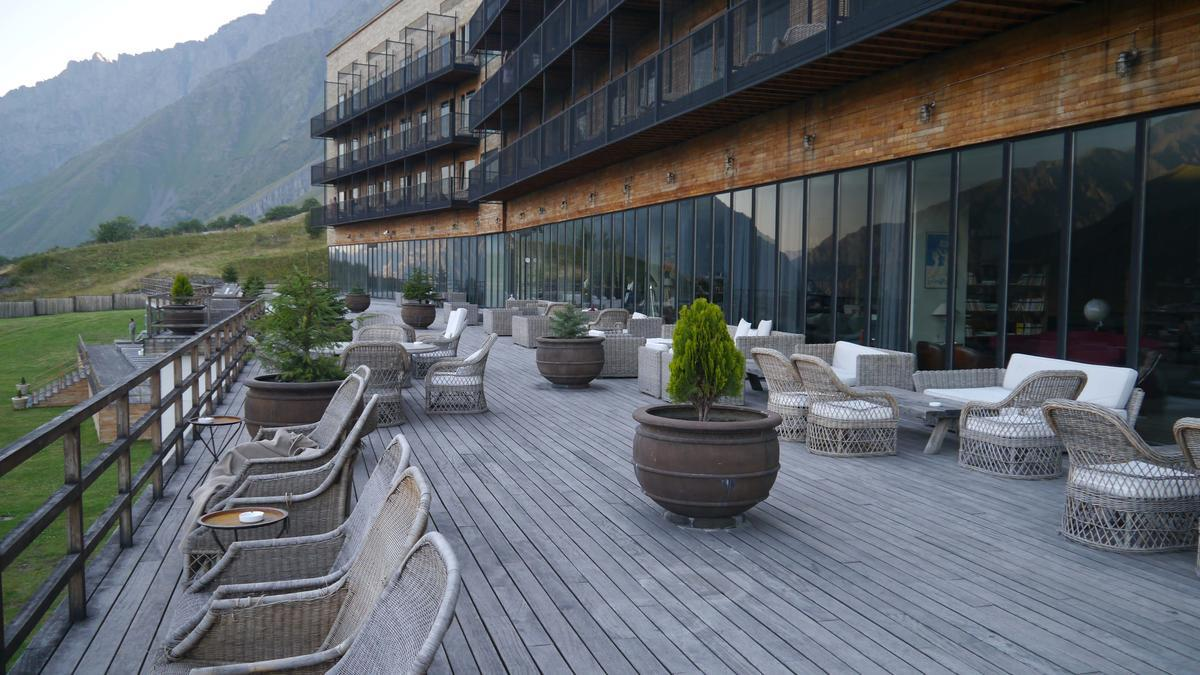 Отель Rooms Hotel Kazbegi