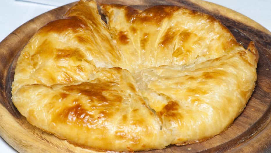 Хачапури на кефире с сыром