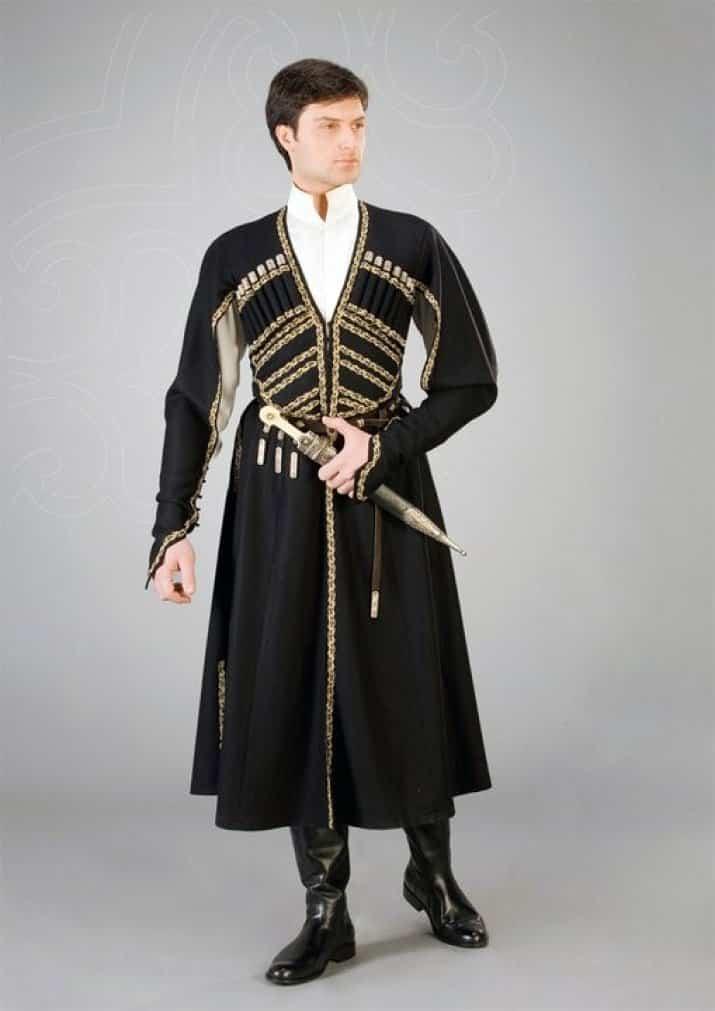 национальный костюм грузии с картинками