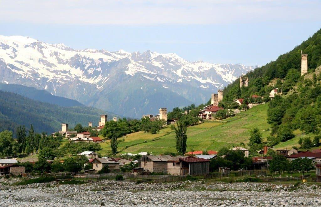 Из Грузии в абхазию