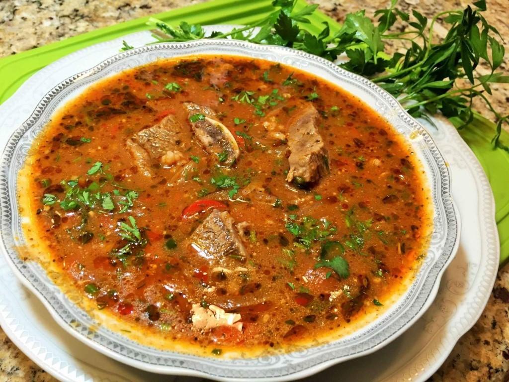Суп харчо по-грузински