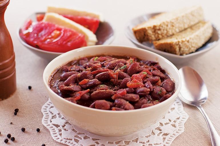 Лобио из красной фасоли - классический рецепт